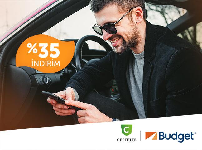 CEPTETEB'lilere Budget'ta %35 İndirimli Araç Kiralıyor!