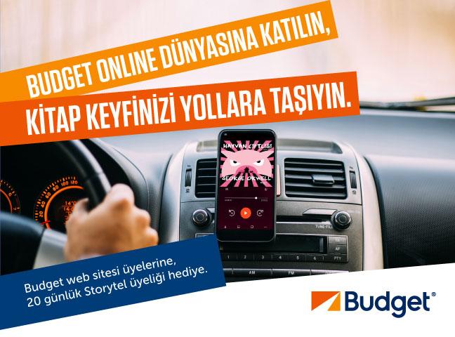 Budget'lılar Storytel'le keyifli yolculuklar yapıyor!