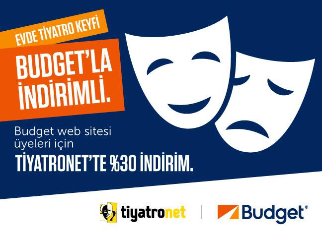 Budget Web Sitesi Üyeleri Tiyatronet'te Kazanıyor!