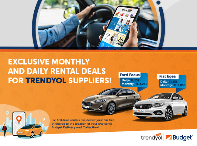 Special Offer for Trendyol Suppliers