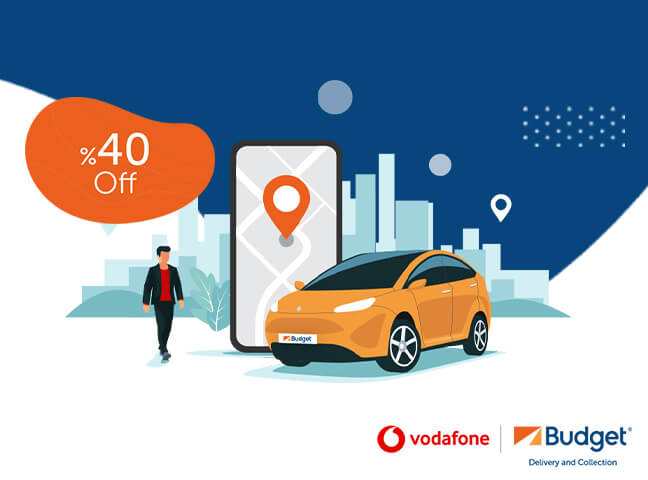 Budget Anywhere You Want Advantage for Vodafone Red Members!