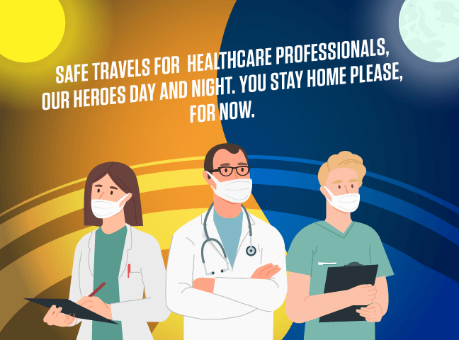 50% Discount for Healthcare Professionals Working Day and Night
