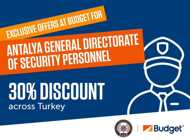 Budget Offer for Antalya General Directorate of Security Personnel