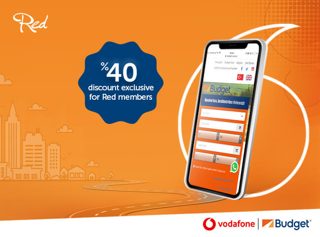 Vodafone Red clients Prefer Budget for their Car Rentals!