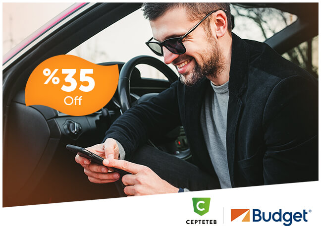 Budget Offers 35% Discount for CEPTETEB Clients!
